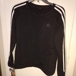 Girls Adidas Sweater Sz Med